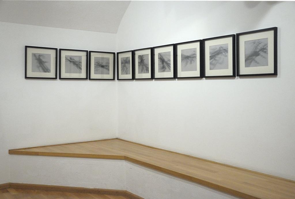 Antonio Marchetti Lamera - Tempo immobile - installation view at Nuova Galleria Morone, Milano 2015
