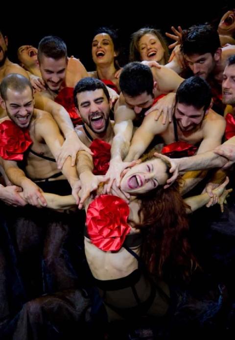Artemis Danza, Carmen K - photo Franco Saccò