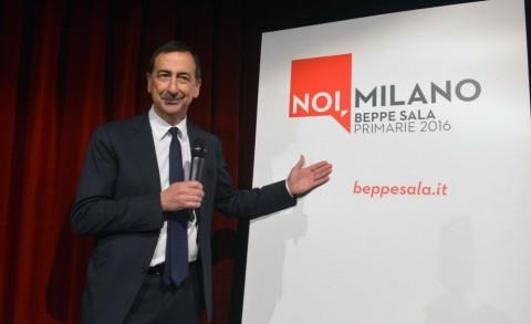 Beppe Sala, candidato per il centrosinistra a Milano