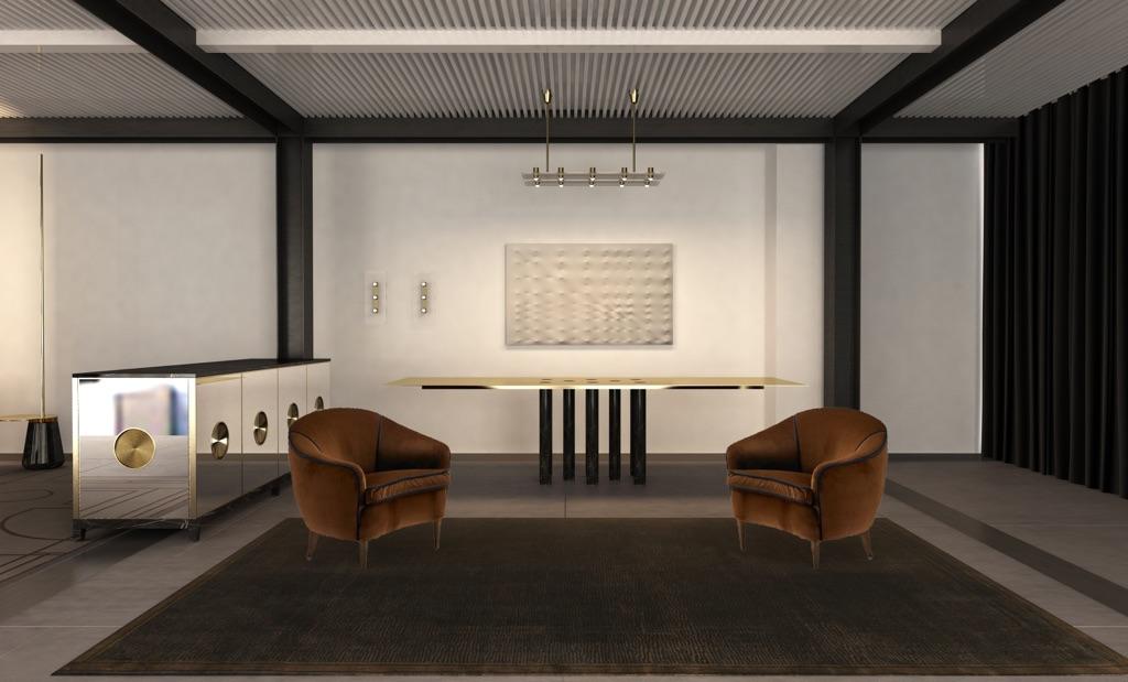 CLS architetti e Claude Missir, Nilufar Depot - sketch