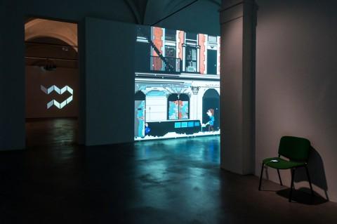 Carlo Zanni, Average Shoveler - Mata Museum, Modena 2016 - photo Elenia Megna