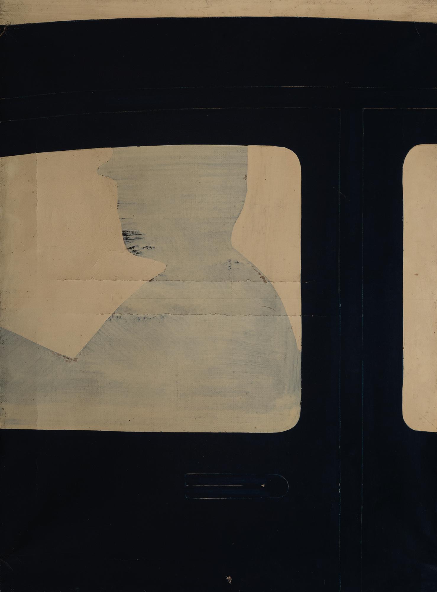 Cesare Tacchi, Via Condotti. Il tranviere, 1963