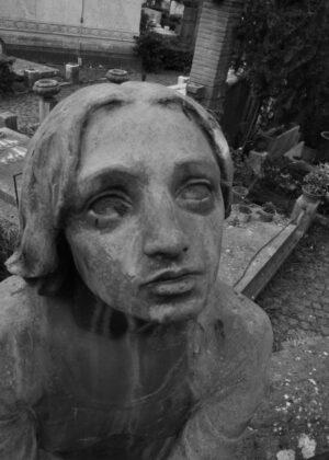 Cimitero del Verano, Roma - Angelo del Dolore - photo Fabio Petrelli, 2016