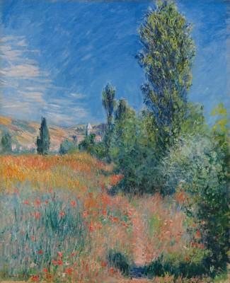 Claude Monet, En Paysage dans l'île Saint-Martin, 1881 - Paul G. Allen Family Collection
