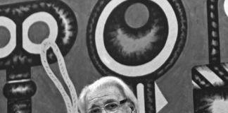 Concetto Pozzati (foto Vittorio Valentini)