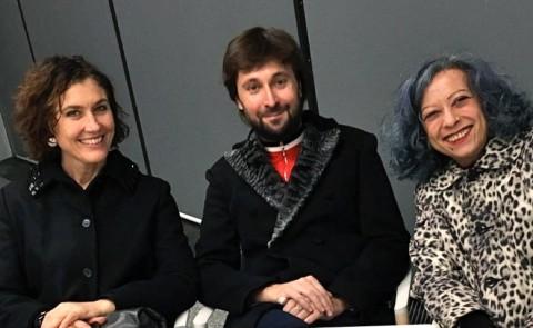 Cristiana Perrella, Francesco Vezzoli e Mariuccia Casadio