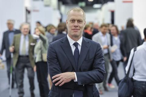 Daniel Hug, direttore di Art Cologne - photo Koelnmesse