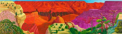 David Hockney, The Grand Canyon, 1998 - Paul G. Allen Family Collection
