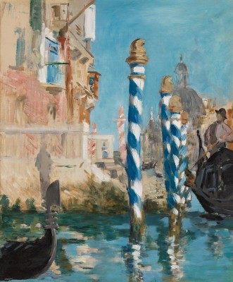Edouard Manet, View in Venice-The Grand Canal, 1874 - Paul G. Allen Family Collection