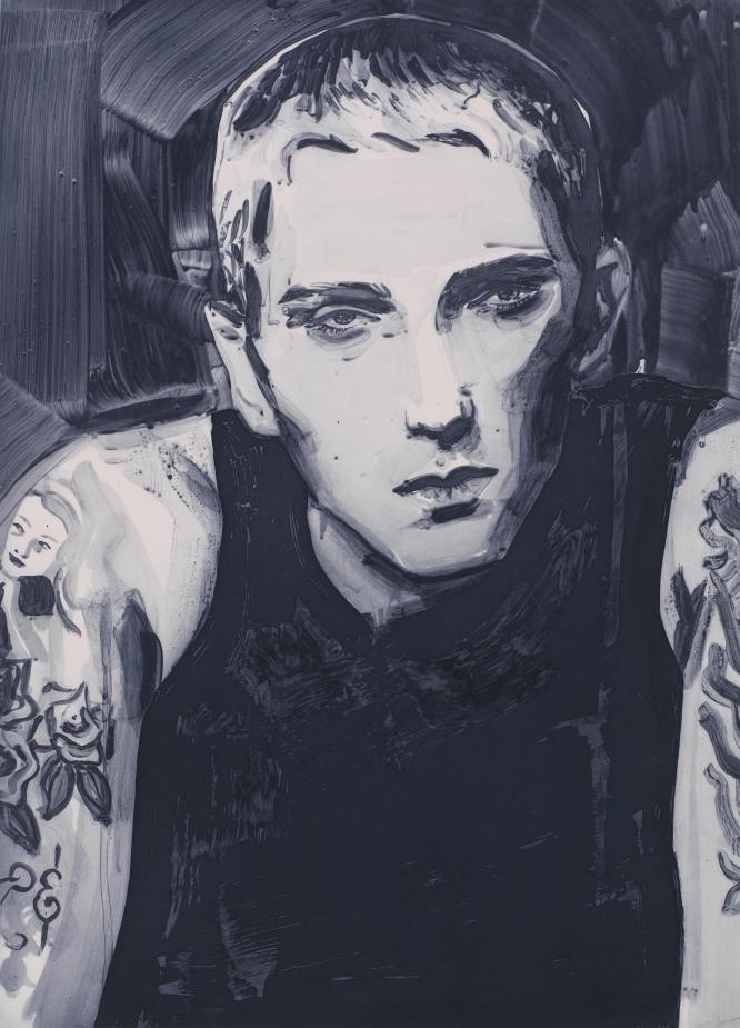 Eminem by Elizabeth Peyton, 2003