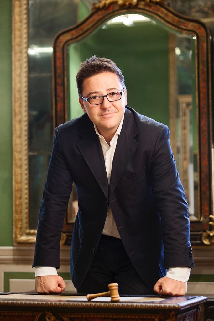 Fabio Massimo Bertolo, direttore della casa d'aste Minerva Auctions