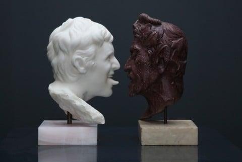 Francesco Vezzoli, Satire of a Satyr, 2011 - collezione Rennie, Vancouver