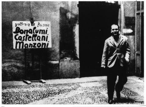 Gabriele Devecchi, Gianni Colombo, Giovanni Anceschi, Davide Boriani - courtesy Archivio Gianni Colombo