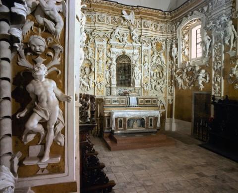 Giuseppe Serpotta, Cappella di Sant'Anna, 1683 - Castelbuono