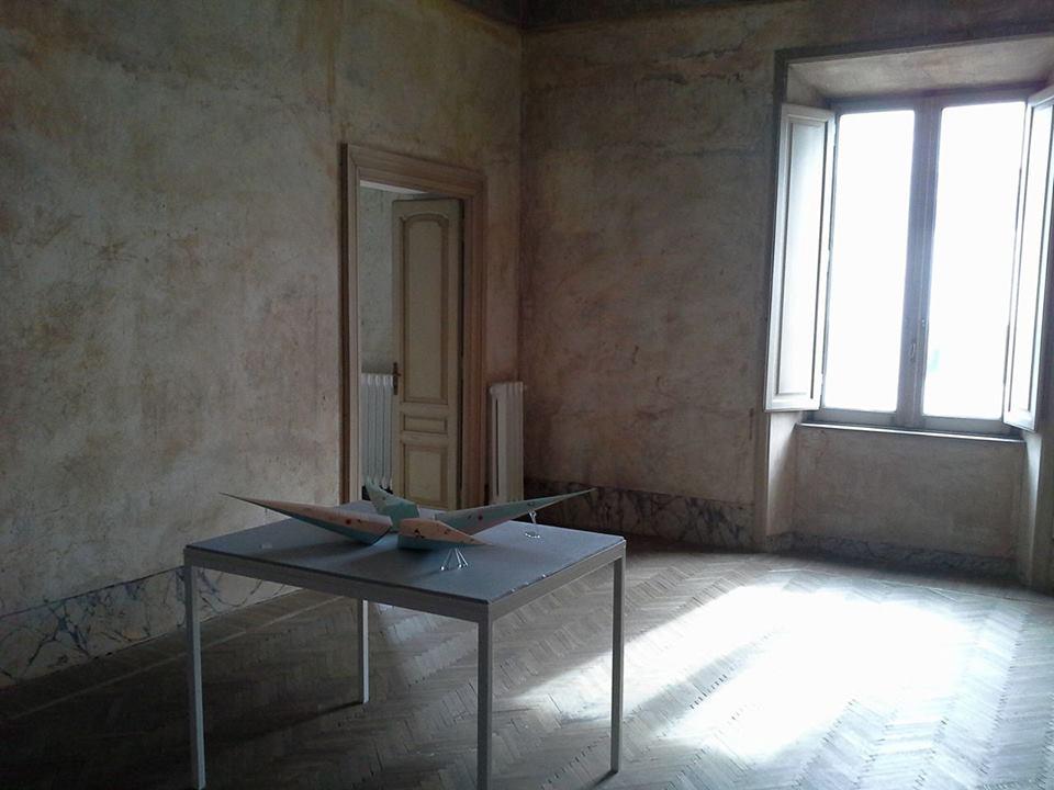 Guillaume Maraud – e.g. venticinque febbraio 2016 - installation view at Indipendenza Studio, Roma 2016
