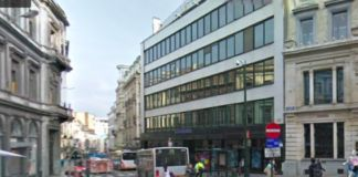 Il Vanderborght Building, sede di Independent Brussels