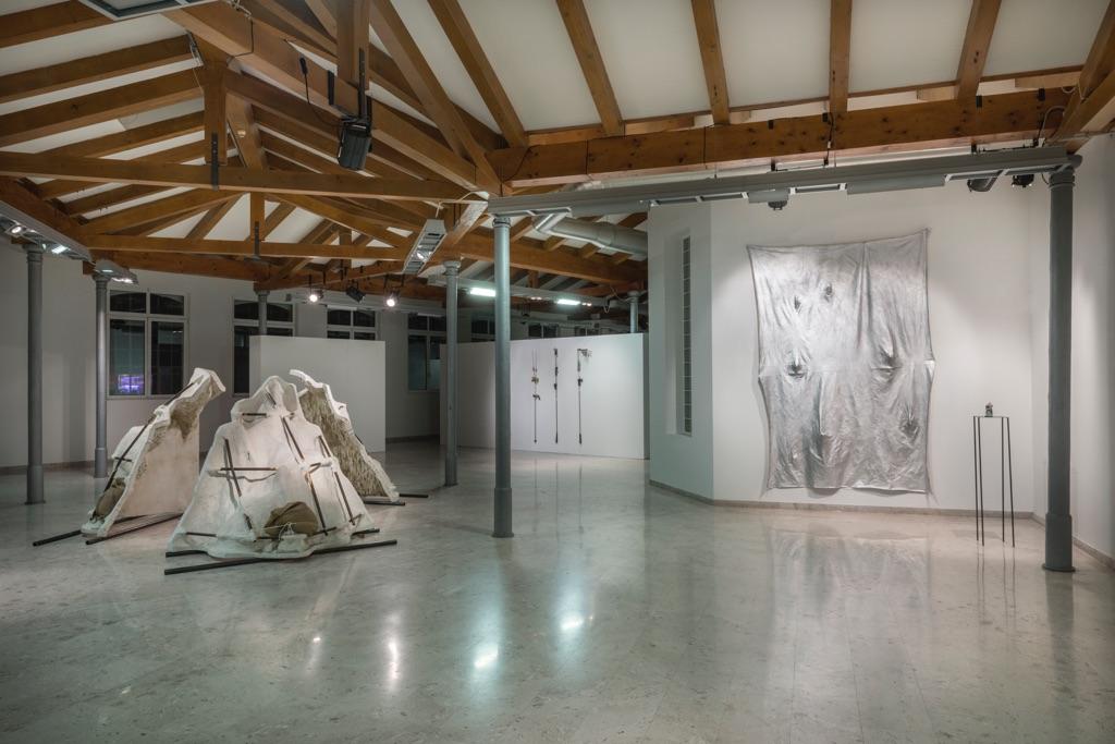 Intervallo di Confidenza - installation view at Galleria Comunale d'Arte Contemporanea, Monfalcone 2016 - photo A. Ruzzier