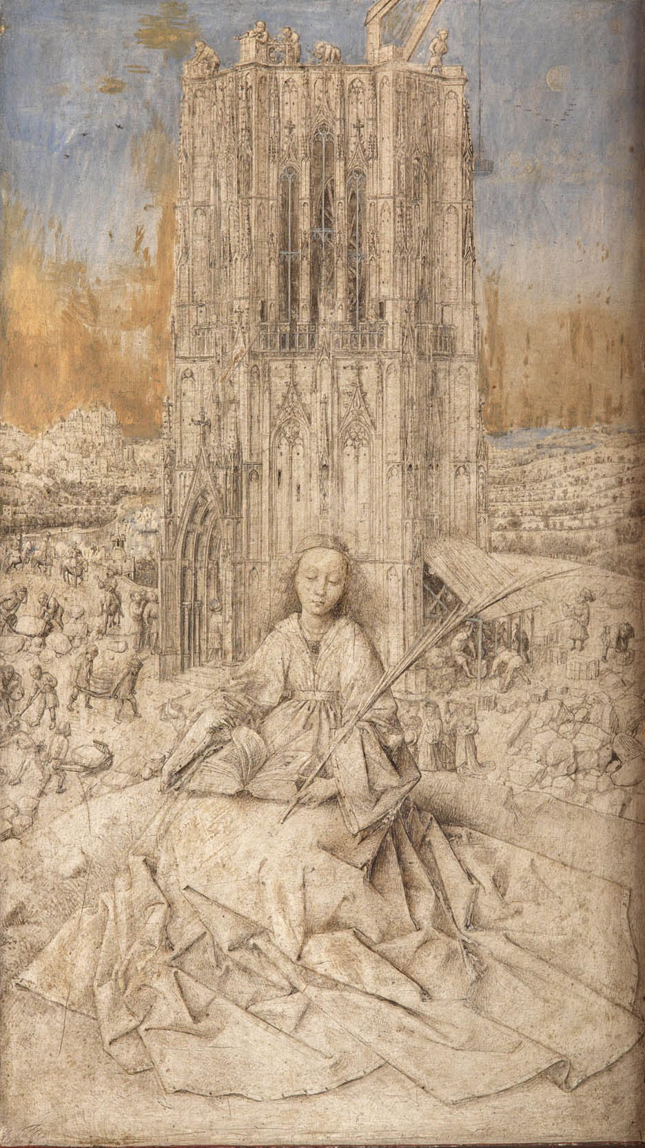 Jan Van Eyck, Santa Barbara, 1437