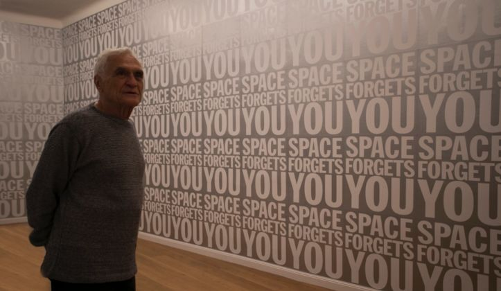 John Giorno. Courtesy Le Case D'Arte, photo credits Morgane Quere
