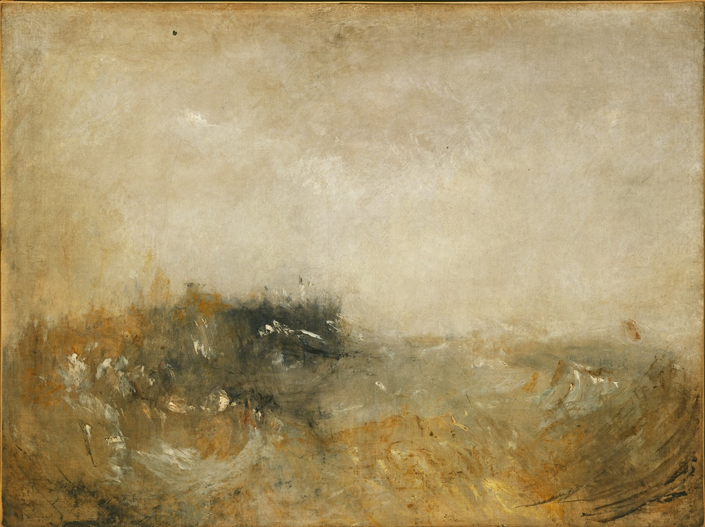 Joseph Mallord William Turner, Rough Sea, 1840-45