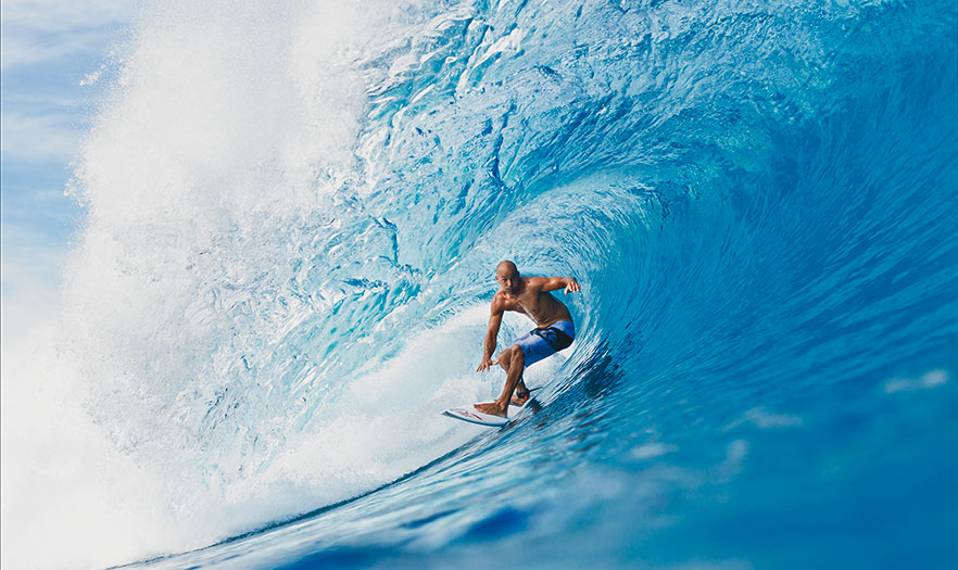 Kelly Slater by Todd Glaser, 2011 (printed 2013)