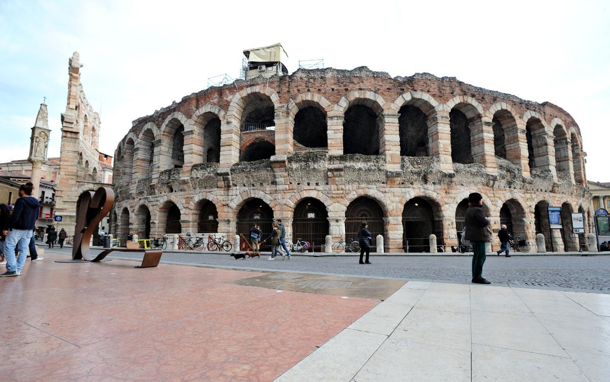 Una copertura per l'Arena di Verona | Artribune