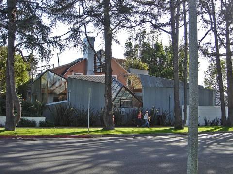 La villa di Frank Gehry a Santa Monica