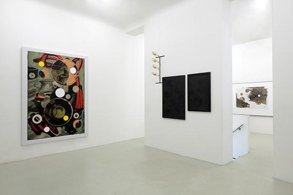 Luigi Carboni – Passi perduti passi ripresi - installation view at Renata Fabbri Arte Contemporanea, Milano 2016 - courtesy l'artista e la galleria