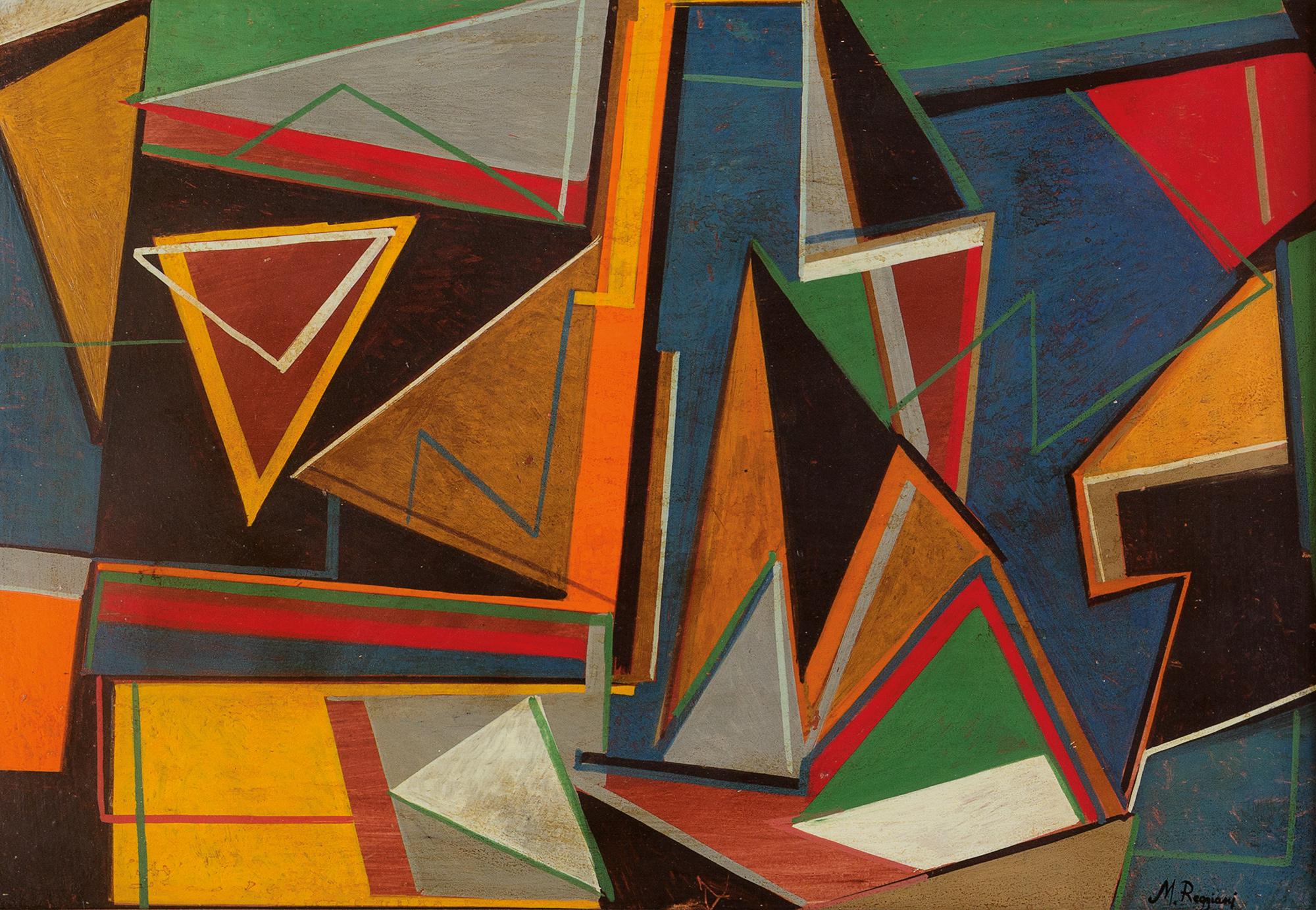 Mauro Reggiani, Composizione geometrica IP2R