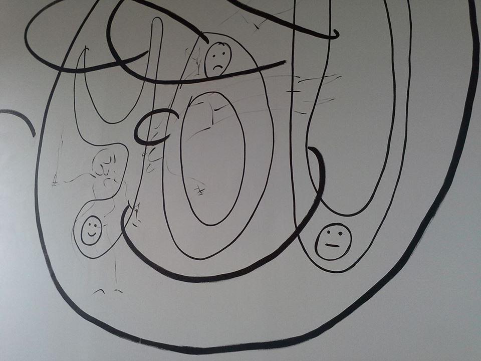 Melania Matranga – Denim - installation view at Indipendenza Studio, Roma 2016
