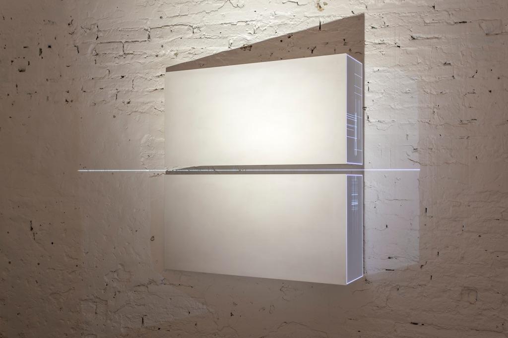 Minus.log – Quello che rimane - installation view at Museolaboratorio, Città Sant'Angelo 2016