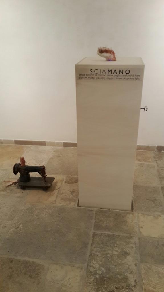Monica Casalino – La pelle al limen - installation view at Museo Nuova Era, Bari 2016
