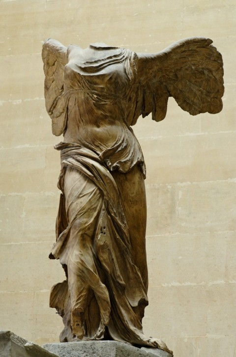 Nike di Samotracia - Musée du Louvre, Parigi