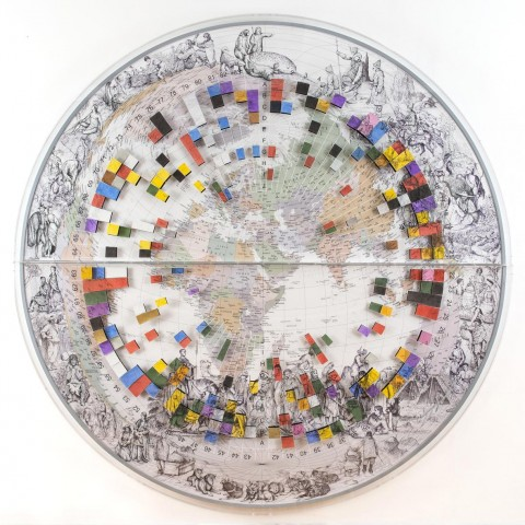 Pietro Ruffo, The Colours of Cultural Map, 2015