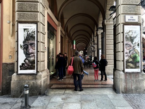 Roger Olmos, Cosimo - CHEAP Street Poster Art Festival, Bologna 2016