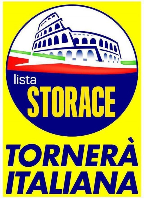 Roma, elezioni 2016 - il manifesto della lista Storace