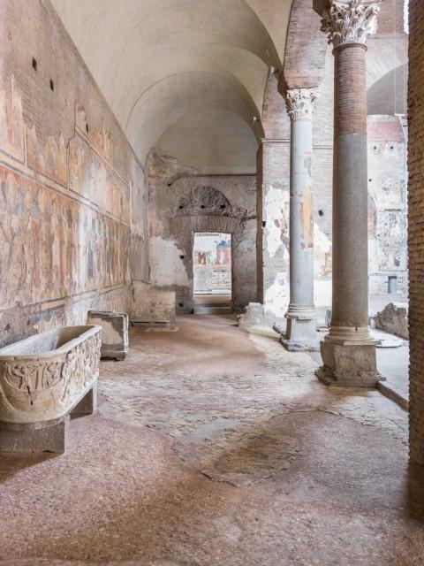 Santa Maria Antiqua tra Roma e Bisanzio - installation view, Roma 2016 - photo Gaetano Alfano