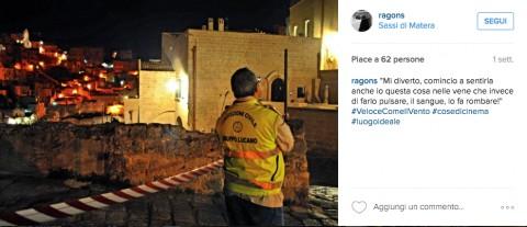 Sergio Ragone e il suo #LuogoIdeale su Instagram
