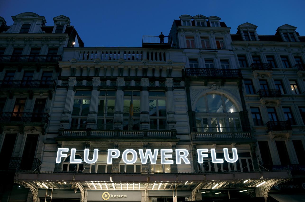 Stefano Cagol, Flu Power Flu, 2007 - Collezione Renato Villotti