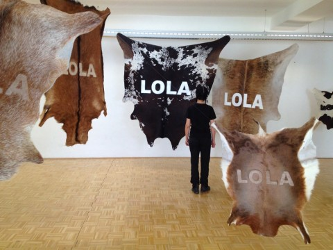 Stefano Cagol, The Cow Lola, 2010