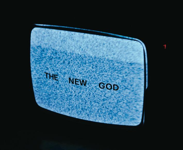 Stefano Cagol, The new God, 1995 - courtesy l'artista