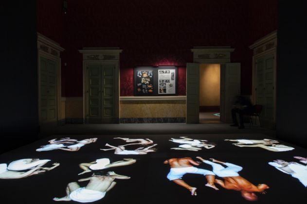 Studio Azzurro - Immagini sensibili - installation view at Palazzo Reale, Milano 2016 - photo © Studio Azzurro