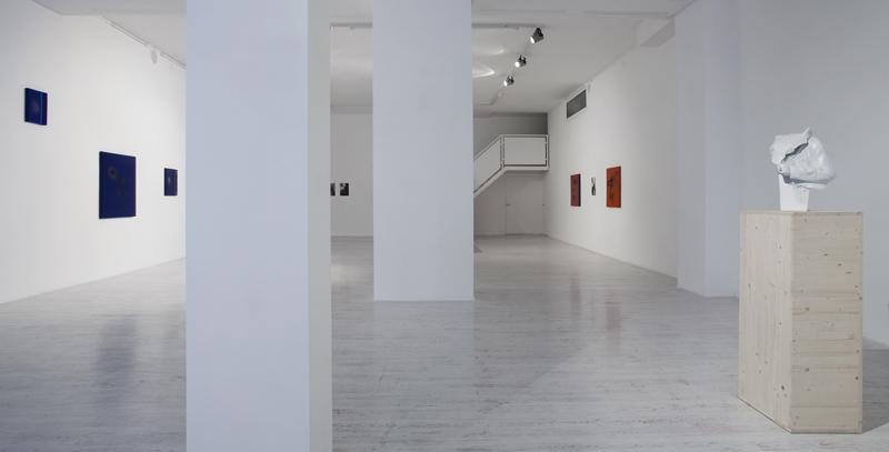 Thomas Helbig – In a present - installation view at Thomas Brambilla Gallery, Bergamo 2016