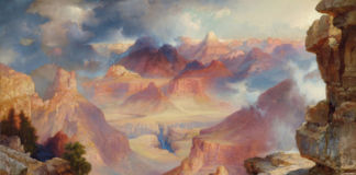 Thomas Moran, Grand Canyon of Arizona at Sunset, 1909 - Paul G. Allen Family Collection