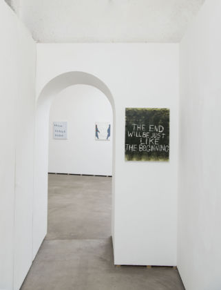 Todd Norsten - The Heart Of Everything That Is - installation view at Federica Schiavo Gallery, Roma 2016 - photo Giorgio Benni