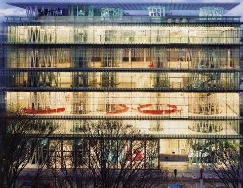 Toyo Ito, Sendai Mediatheque, Miyagi, 1995-2001 - photo © Naoya Hatakeyama