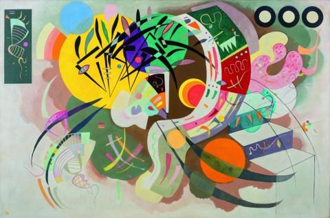 Vasily Kandinsky, Courbe dominante, aprile 1936 - New York, Museo Solomon R. Guggenheim - photo Kristopher McKay