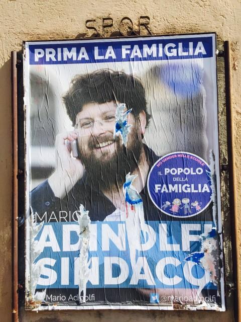 Il manifesto di Mario Adinolfi - Popolo della Famiglia