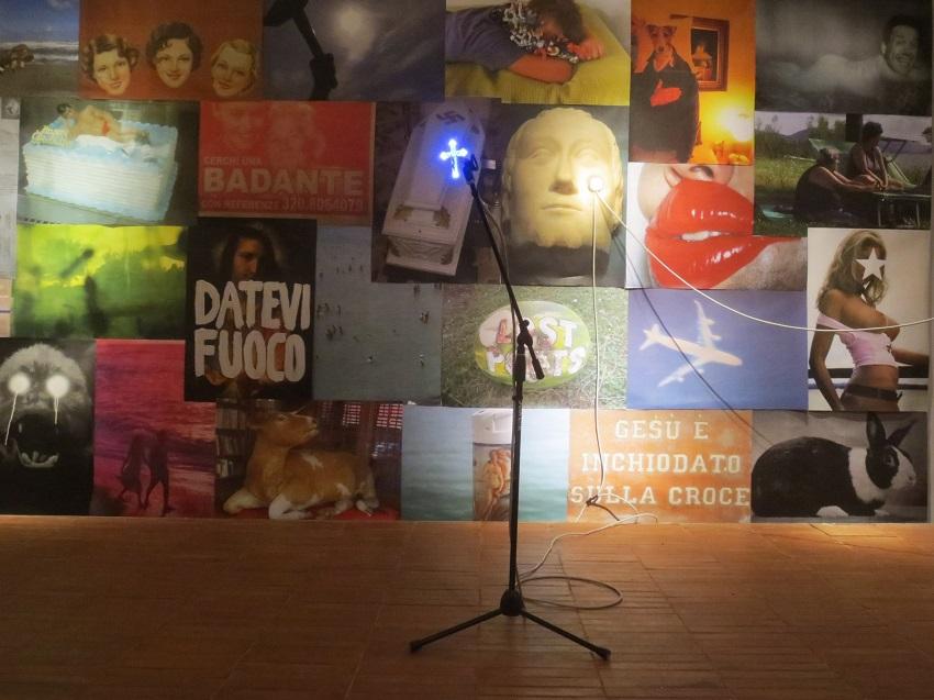 Adalberto Abbate - Mario Consiglio – Manifesto - installation view at GAM, Palermo 2016
