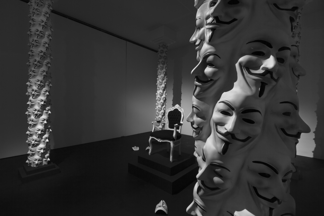 Adrian Tranquilli – After the West – installazione view at Studio Stefania Miscetti, Roma 2016 – photo Claudio Abate